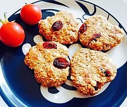 【增肌减脂都可以吃的小零食】无油无糖蛋白粉香蕉燕麦饼的做法