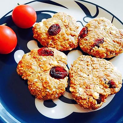 【增肌减脂都可以吃的小零食】无油无糖蛋白粉香蕉燕麦饼