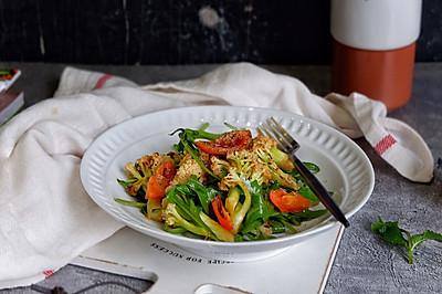 意式黑醋煎菜花沙拉