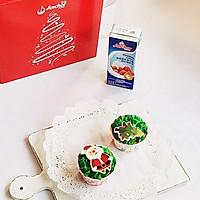 圣诞蛋糕杯#安佳烘焙学院#