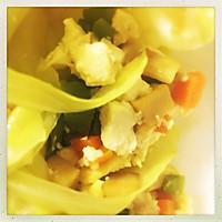 菜叶素菜包,减肥低卡~的做法图解7