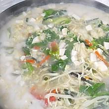 家常版营养面筋汤