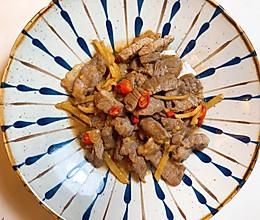 极简|小炒黄牛肉的做法
