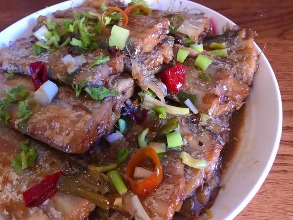 家焖带鱼,吃不腻的家常味的做法