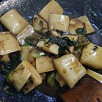 舟山烤菜年糕的做法图解7