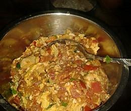 鸡蛋豆腐西红柿的做法