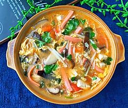 10分钟就能搞定的低脂酸辣汤❗好喝又开胃的做法