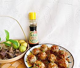 #名厨汁味,圆中秋美味#团团圆圆-莲藕丸子的做法