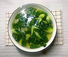 #好吃不上火#小白菜汤的做法