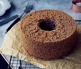 黑米戚风蛋糕的做法