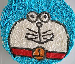 哆啦A梦蛋糕+戚风卷的做法