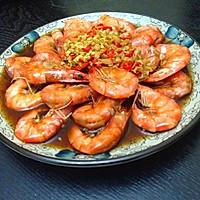 鲜椒蒸虾----无油清蒸更健康的做法图解5
