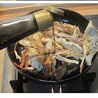 姜葱炒梭子蟹的做法图解8