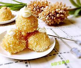 荔枝还可以这样吃--香酥荔枝丸子的做法