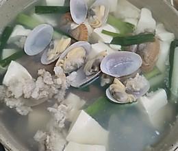 花甲豆腐汤的做法