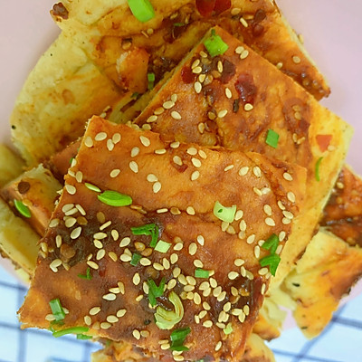 简单美味酱香饼(附万能酱料)