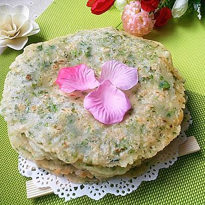 青菜早餐饼