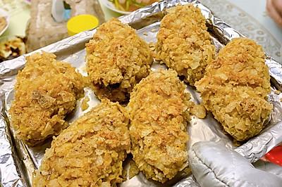 烤薯片鸡翅(8L小烤箱)