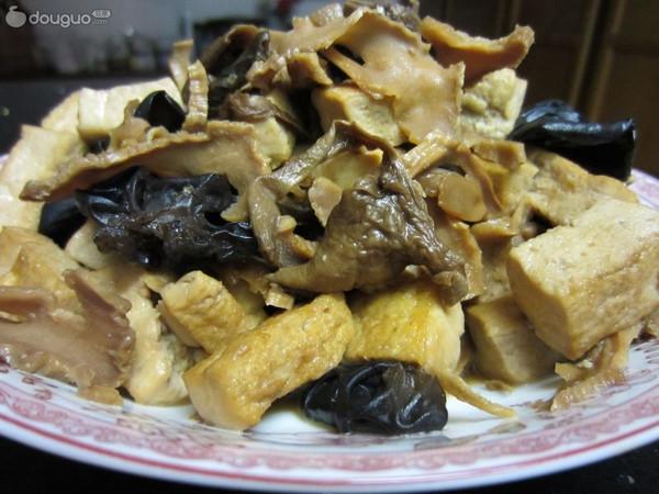水笋豆腐的做法