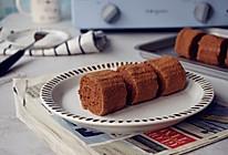 可可味小蛋糕卷的做法