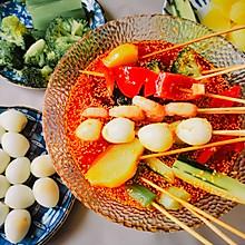 #以美食的名义说爱她#红油钵钵鸡冷吃串串