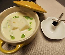 奶油玉米浓汤的做法