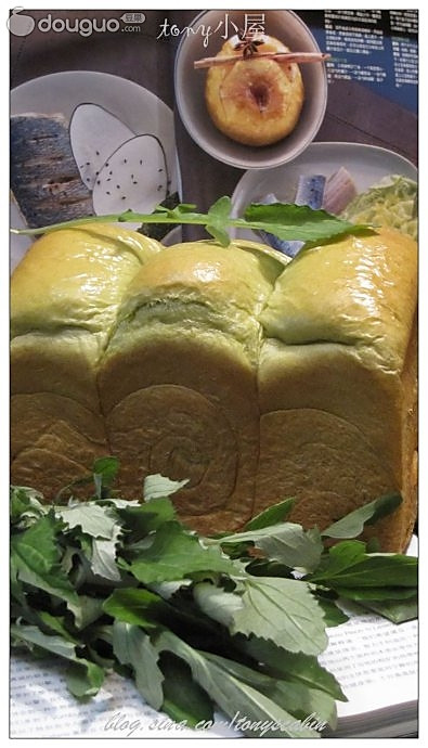 艾叶面包的做法
