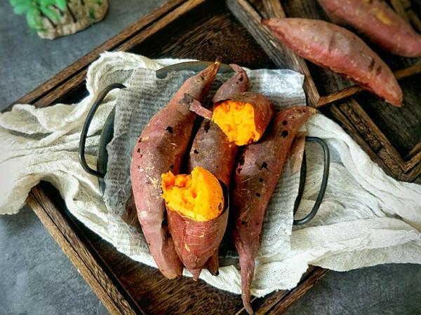 烤箱版烤红薯的做法