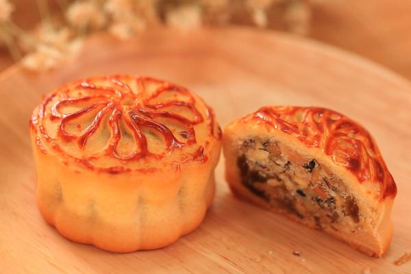 五仁月饼-迷迭香的做法