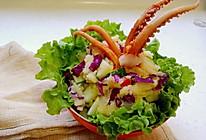 土豆泥鱿鱼大团子——章鱼小丸子无敌升级版!(附鱿鱼腌法)的做法