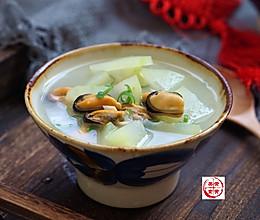 冬瓜海虹汤的做法