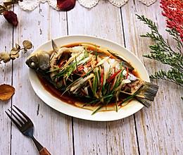 #秋天怎么吃#清蒸鲫鱼的做法