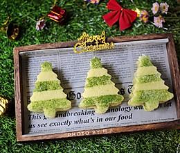 迷你圣诞树蛋糕的做法