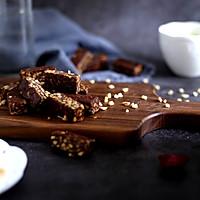 """一把平底锅搞定台湾""""网红""""巧克力牛轧糖的做法图解14"""