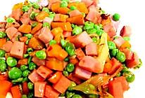 火腿炒甜豆的做法
