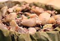 荷叶冬菇滑鸡的做法