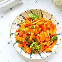 好吃不上火#消灭家里剩余胡萝卜:简单快手的早餐必备小咸菜