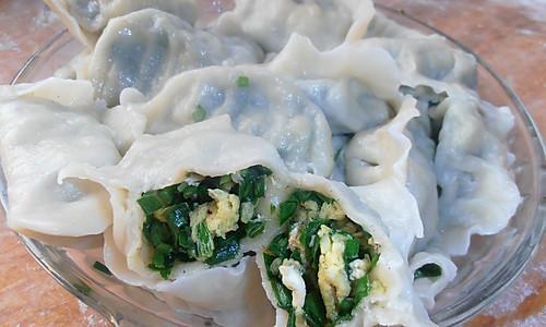 韭菜鸡蛋饺子的做法