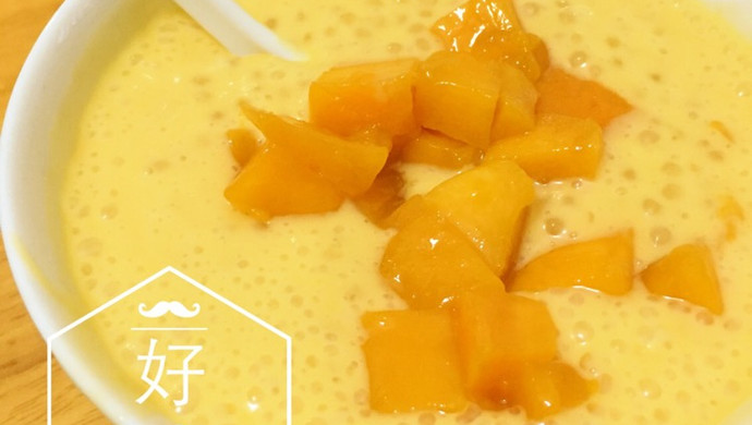 港式甜品经典——芒果西米露