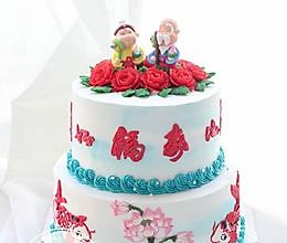 中国风蛋糕视频教程的做法