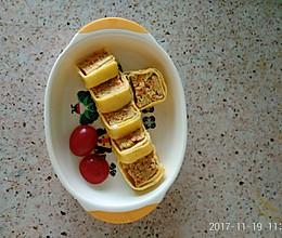 黄金鸡糕_10个月宝宝辅食的做法
