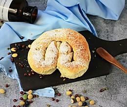 香葱咸面包的做法