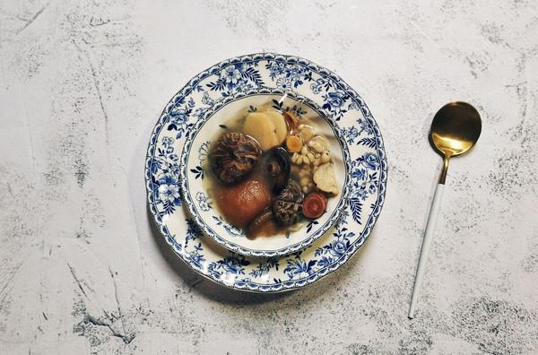 五指毛桃汤的做法