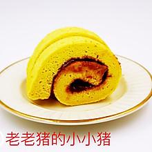 奶油焦糖蛋糕卷