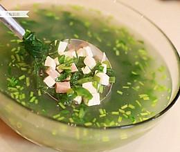 蔬菜红白豆腐羹的做法