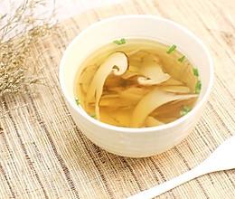 松茸清汤—迷迭香的做法
