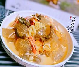 大连特色小吃~海鲜炒焖子的做法