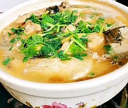 土豆砂锅鲢鱼的做法