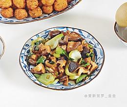 香菇炒瓢菜的做法