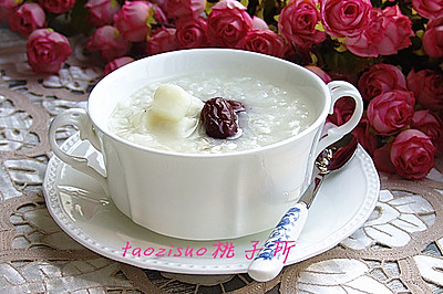 红枣薏仁山药粥#美的早安豆浆机#
